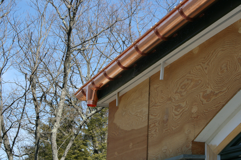 Copper Gutters New Jersey And New York Gutter Systems
