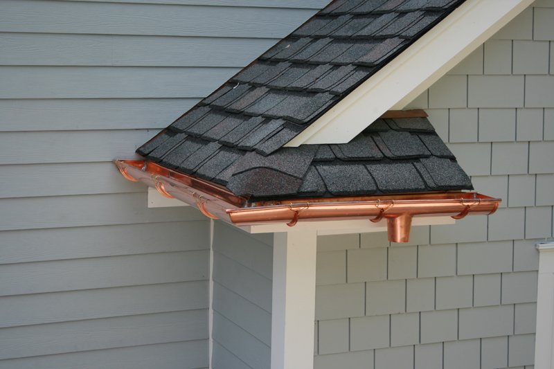 Copper Gutters Gutter Systems New Jersey And New York