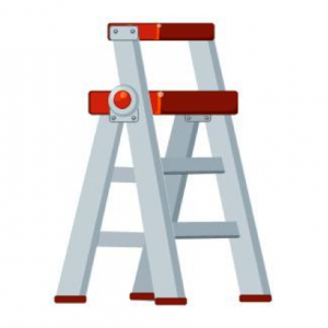 Roof ladder safety