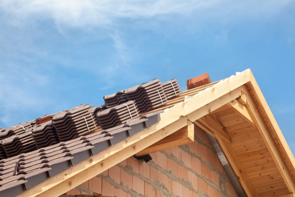 A new roof can improve your property value.