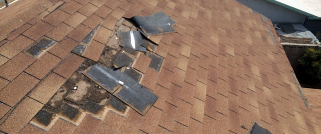 Excessive water damage on the roof is a sign that it's time for roof replacement.
